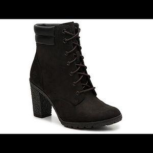 Timberlands heeled boots